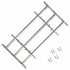 Vidaxl Griglia regolabile 3 barre trasversali 700-1050 mm protezione finestre