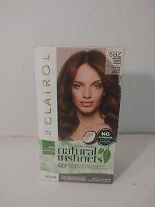 Clairol Natural Instincts Demi-Permanent Hair Color Medium Bronze Brown [5BZ]