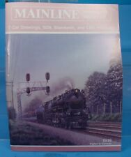 HO,S,N,O MAINLINE MODELER MAGAZINE NOVEMBER 1989 TABLE OF CONTENTS PICTURED