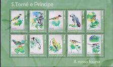 O) 2010 SAO TOME AND PRINCIPE, BIRDS-SPEIRUPS, TRERON, PLOMBODE, THOMASOPHANTES,