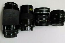 Job Lot Of Lenses, Tokina, Ozek and Jessops