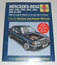 Reparaturanleitung Mercedes W124 Benzin + Diesel, Baujahre 1985 - 1993