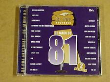 CD / DE PREHISTORIE DE JAREN 80 1981 - VOLUME 2