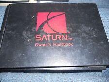 1996 SATURN SL SL1 SL2 SW2 SC1 SW1 OWNERS MANUAL