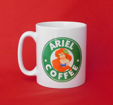 Ariel The Little Mermaid Disney Princess Starbucks Inspired Coffee Mug 10oz