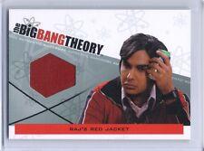 The Big Bang Theory 3 & 4 Kunal Nayyar Raj Koothrappali jacket costume card M-28
