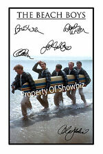 THE BEACH BOYS  AUTOGRAPH SIGNED PRINT POSTER - GREAT PIECE OF MEMORABILIA
