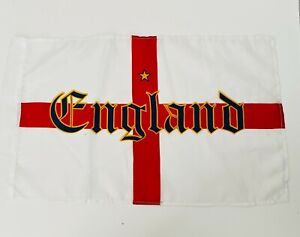 England Flag  Small Fabric Flag 18x11 inch European Cup 2021