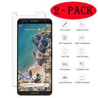 2-PACK Premium Tempered Glass Screen Film Protector For LG V50 ThinQ K50 K40 Q60