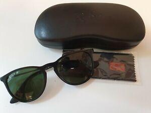 Ray-Ban Sonnenbrille Unisex, Schwarz, Polarisiert -- Model: ray-Ban erika 601/2p