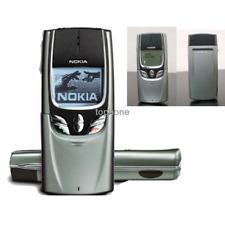 Nokia 8850 Unlocked Original Slide Mobile Phone Silver 2G GSM 900/1800 Java