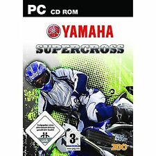 PC Spiel Yamaha Supercross Motorradrennen deutsche Version Neu