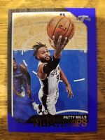 "2018-19 PANINI NBA HOOPS PATTY MILLS #43 ""BLUE PARALLEL"""