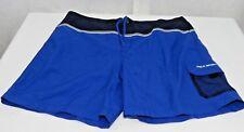 Vintage 90s Polo Sport XXL Royal Blue Spellout Swim Trunks Shorts