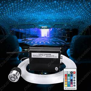 12V DIY Audio Fiber Optic Star Light For Headliner Light For Chevrolet Silverado