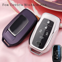 TPU Shell Protector Remote Smart Car Key Case Holder For Toyota Alpha Wilfa
