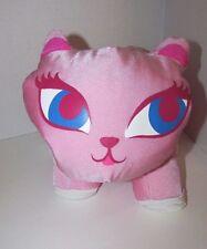 Microbead Nylon Spandex Pink Cat blue eyes plush Idea Nuova  pillow