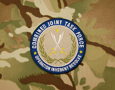 CJTF Operation Inherent Resolve Combined Joint Task Force Patch USSOCOM VELCRO®