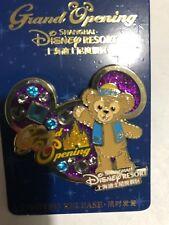 *1* Disney Pin Shanghai Grand Opening Choose from Duffy, Pluto, Pooh, Snow Globe