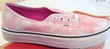 Vans Authentic Tie Dye Rose Violet Femmes UK 6 Entièrement neuf dans sa boîte Skateshoe Baskets