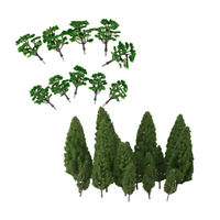 30 Mixed Model Trees Train Railway Architecture Forest Scenery Layout 5-16cm