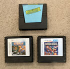 Atari 5200 Games - Lot Of 3 - Frogger II, Mario Bros, Dig Dug - Untested