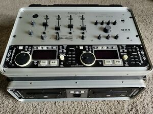 Denon DN-D4500 Dual CD & MP3 Rack Mount Player with American Audio DX4 in case