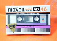MAXELL MX 46 JAPAN 1982 Metal Cassette Tape BLANK SEALED JP Market Ver.