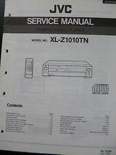 Original Service Manual JVC  Compact Disc Player XL-Z1010TN