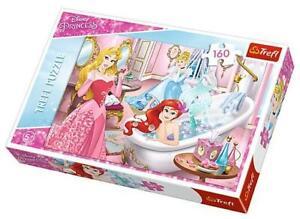 Trefl Disney Princess in the Bathroom  Jigsaw Puzzle 160 Pieces 5+