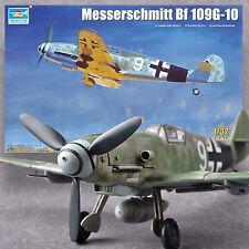 TRUMPETER 1/32 MESSERSCHMITT BF-109G-10 *DETAILED, COMPLETE ENGINE *BEST KIT