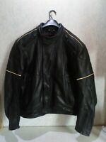 HEIN GERICKE LEATHER ARMOURED MOTORCYCLE JACKET
