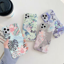 Colorful Leaves Pattern Soft Case Cover For iPhone 11 Pro Max XS XR X 8 7 Plus