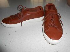 LACOSTE All Leather Brown Men's Sneaker Shoe NWOB