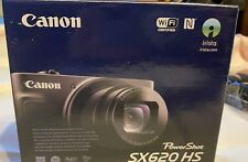 Canon PowerShot SX620 HS Digital Point and Shoot Camera (Black)  & accessory kit