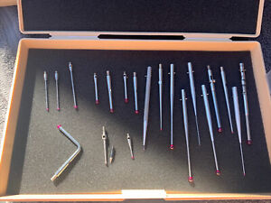 Lot of 21 - Renishaw, American Technica, Carbide Propes Styli - Various Sizes