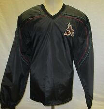 Phoenix Coyotes Men XL Black Windbreaker Jacket    NHL A15M