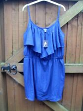 ATMOSPHERE - STRAPPY TUNIC/COVER-UP - SIDE SPLITS - NAVY - 20 BNWT