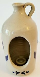 Williamsburg 2003 Pottery Candle Holder/Candle Jug
