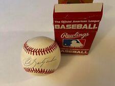 1988 Carl Yastrzemski Rawlings American League Autographed Baseball 1/1
