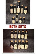 LABELS ONLY Halloween Small Dark Arts Magic Potion Bottles Harry Potter Prop