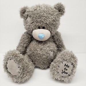 "Tatty Teddy 12"" Me to You Carte Blanche Seated Gray Teddy Bear Plush"
