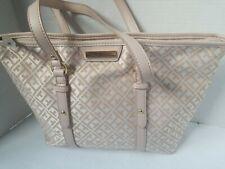 NWT TOMMY HILFIGER Signature Shopper Handbag Purse MSRP $98.00
