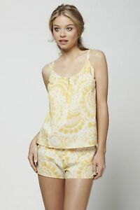 Anthropologie Cirrus Sweeper Cami Floral Cotton Camisole Top By Lilka Size S