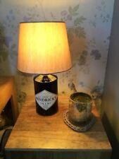 Hendricks Gin Upcycled Bottle Table Lamp