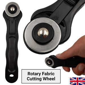 Rotary Fabric Cutter Round Wheel Quilting Sewing Roller Cutting DIY Craft Tool