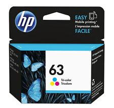 Genuine New Hp 63 Color Ink for Deskjet 2130 3630 Envy 4520 Officejet 3830 4650