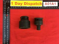Gedore K32 and IN K 32 Impact Bits 3/4 Inch Hex Socket Nut 24 mm and 17 mm