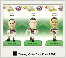 2009 Select NRL Color Figurine Collectable Trading CARDS team Set Manly (3)