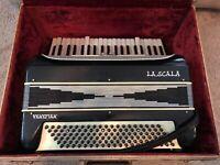 Vintage La Scala Venetian Piano Accordion with Minor Issues + Hard Case